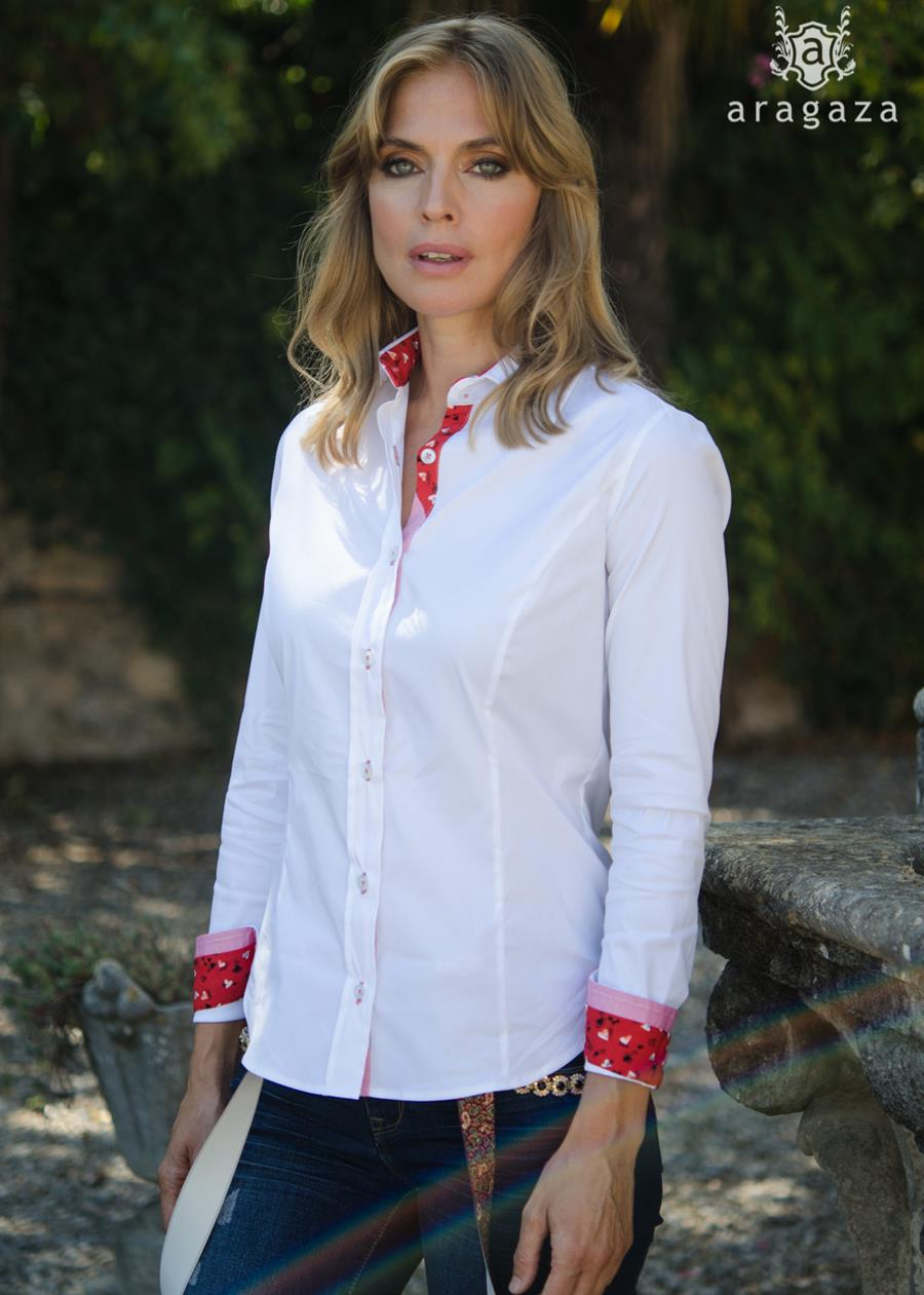 Camisa Isabel Blanco by Aragaza