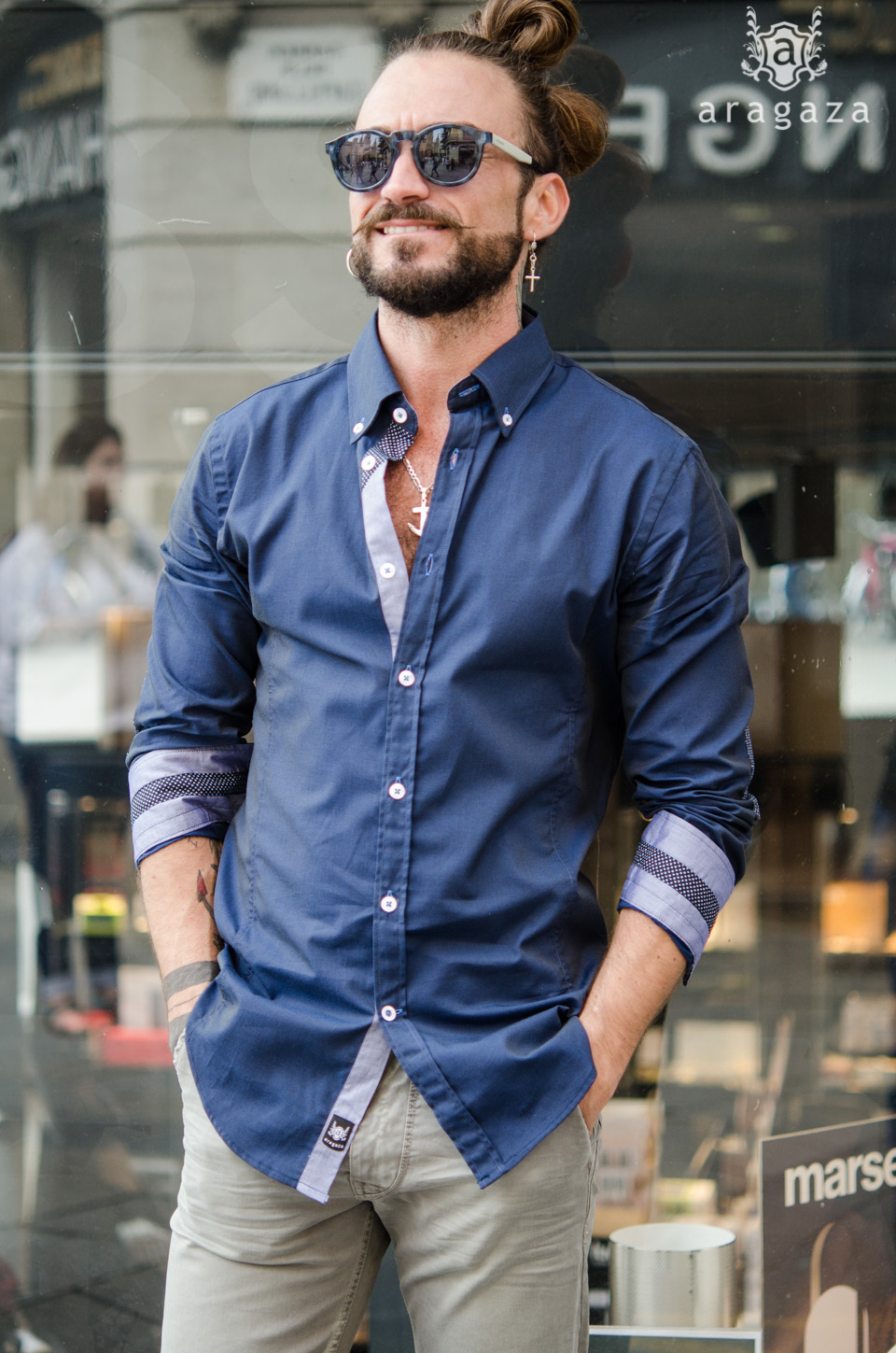Viste de azul  | Aragaza - Your shirt made in Barcelona - Quality shirts