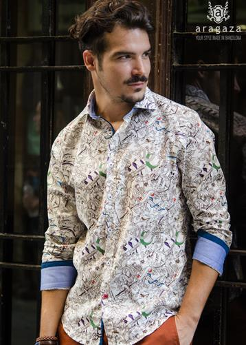 Camisa Tattoo | Aragaza - Your shirt made in Barcelona - Quality shirts