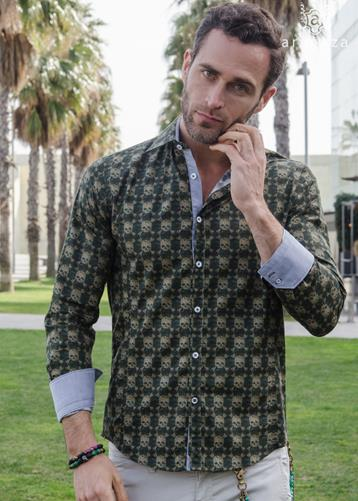 Camisa Bones | Aragaza - Your shirt made in Barcelona - Quality shirts