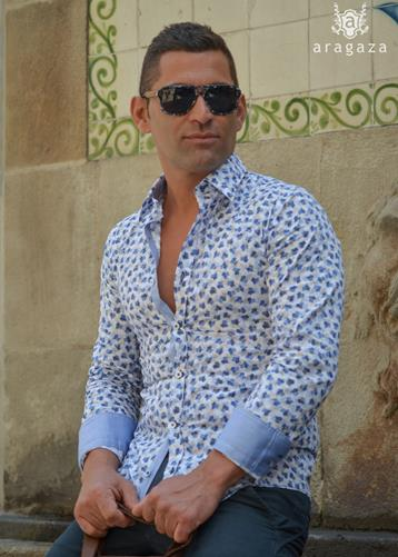Camisa Sessanio  | Aragaza - Your shirt made in Barcelona - Quality shirts