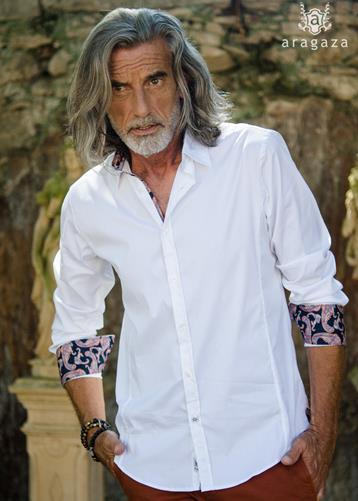 Alvito blanca | Aragaza - Your shirt made in Barcelona - Quality shirts